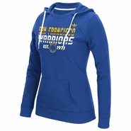 Golden State Warriors adidas Originals Women�s San Francisco Warriors �The City� Fleece Crewdie � Royal