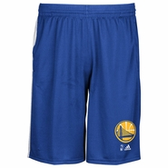 Golden State Warriors adidas Partial Logo & NBA Logoman Tip-Off Knit Short � Royal