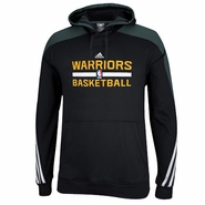 Golden State Warriors adidas Practice Pullover Hoody - Black
