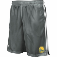 Golden State Warriors Adidas Practice Shorts - Grey