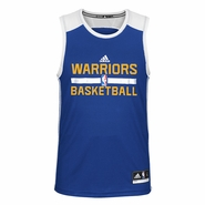 Golden State Warriors adidas Practice Tank - Royal