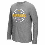 Golden State Warriors adidas Pre-Game Climalite � Ultimate Long Sleeve Tee � Grey