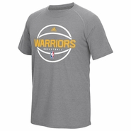 Golden State Warriors adidas Pre-Game Climalite � Ultimate Short Sleeve Tee � Grey