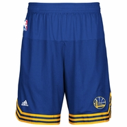 Golden State Warriors adidas Pre-Game Short - Royal