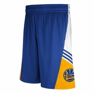 Golden State Warriors adidas Pre-Game Shorts -Royal/Gold