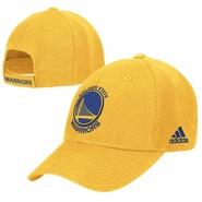 Golden State Warriors adidas Primary Logo Structured Adjustable Cap � Gold