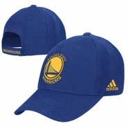 Golden State Warriors adidas Primary Logo Structured Adjustable Cap � Royal