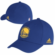 Golden State Warriors adidas Primary Logo Structured Flex Cap - Royal