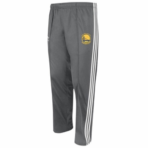 Golden State Warriors Adidas Primary Logo Track Pants - Grey - Click to enlarge