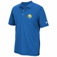 Golden State Warriors adidas Puremotion Solid Jersey Polo - Royal