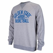 Golden State Warriors adidas Raglan Crew - Grey