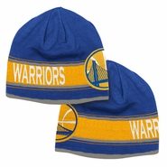 Golden State Warriors adidas Reversible Knit Cap