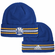 Golden State Warriors adidas Ribbed Cuffed Knit � Royal