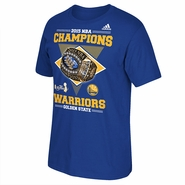 Golden State Warriors adidas Ring Winners Champs Tee - Royal - Will Ship 7/8