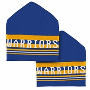 Golden State Warriors adidas Roof Top Knit Cap - Royal/Gold