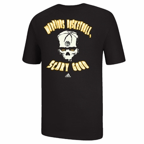 Golden State Warriors adidas Scary Good Glow in the Dark Tee - Black - Click to enlarge