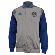 Golden State Warriors adidas Second Half On Court Jacket - Grey