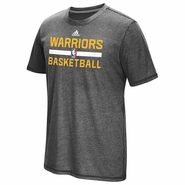 Golden State Warriors adidas Short Sleeve Climacool� Aeroknit Practice Tee � Slate