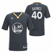 Golden State Warriors adidas Slate Alternate Harrison Barnes Swingman Jersey