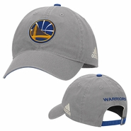 Golden State Warriors adidas Slouch Adjustable � Grey