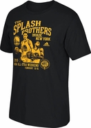 Golden State Warriors adidas Splash Brothers Invade New York All-Star Tee - Black/Gold