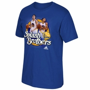 Golden State Warriors adidas Splash Brothers Tee - Blue