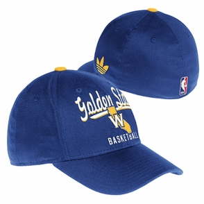 Golden State Warriors adidas State 'W' Logo Basic Flex Cap - Royal - Click to enlarge