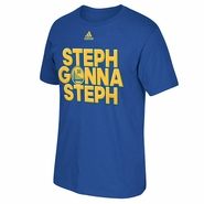 Golden State Warriors adidas Steph Gonna Steph Tee - Royal