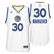 Golden State Warriors adidas Stephen Curry #30 Christmas Day Swingman Jersey - White