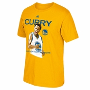 Golden State Warriors adidas Stephen Curry �CURRY� Flexing Tee � Gold