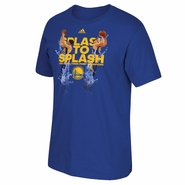 Golden State Warriors adidas Stephen Curry & Klay Thompson Back to Back 3-point Champions Tee - Royal