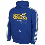 Golden State Warriors adidas Strength in Numbers 73 Wins Pullover Hoodie - Royal