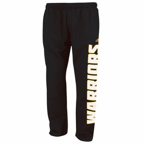 Golden State Warriors Adidas Sweat Pants - Black - Click to enlarge