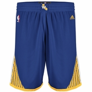 Golden State Warriors adidas Royal Blue Road Swingman Shorts
