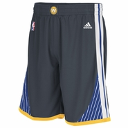 Golden State Warriors adidas Slate Alternate Swingman Shorts