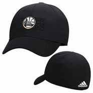 Golden State Warriors adidas Tactel Structured Flex Cap � Black