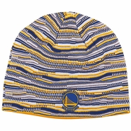 Golden State Warriors adidas Team Logo Skully - Royal/Gold/White