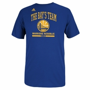 Golden State Warriors adidas The Bay's Team Warriors Redublic Tee - Royal