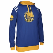 Golden State Warriors adidas The Chosen Few 3-Stripe Pullover Hoody - Royal/Gold