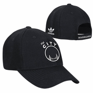 Golden State Warriors adidas �The City� Structured Adjustable Cap � Black/White