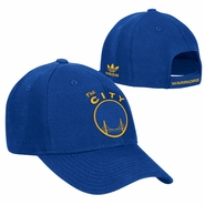 Golden State Warriors adidas �The City� Structured Adjustable Cap � Royal