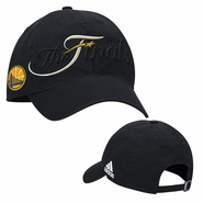 Golden State Warriors adidas The Finals Adjustable Slouch Cap - Black - Will Ship 6/8
