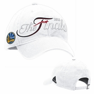 Golden State Warriors adidas The Finals Adjustable Slouch Cap - White - Will Ship 6/8