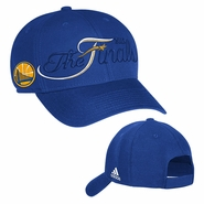 Golden State Warriors adidas The Finals Adjustable Structured Cap - Royal - Will Ship 6/8