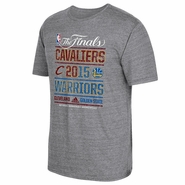Golden State Warriors adidas The Finals Attraction Tee - Grey