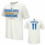 Golden State Warriors adidas The Finals Gametime Shooter - Klay Thompson - White - Will Ship 6/8