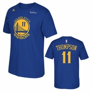 Golden State Warriors adidas The Finals Replica Tee - Klay Thompson - Royal - Will Ship 6/8