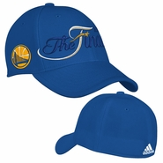Golden State Warriors adidas The Finals Structured Flex Fit Cap - Royal - Will Ship 6/8