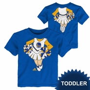Golden State Warriors adidas Toddler Cheerleader Short Sleeve Tee � Royal