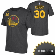 Golden State Warriors adidas Toddler Chinese Heritage Stephen Curry #30 Gametime Tee - Slate